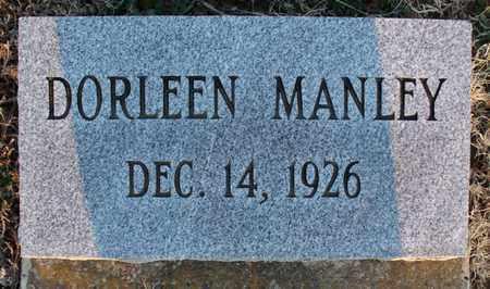 MANLEY, DORLEEN - Montgomery County, Kansas   DORLEEN MANLEY - Kansas Gravestone Photos