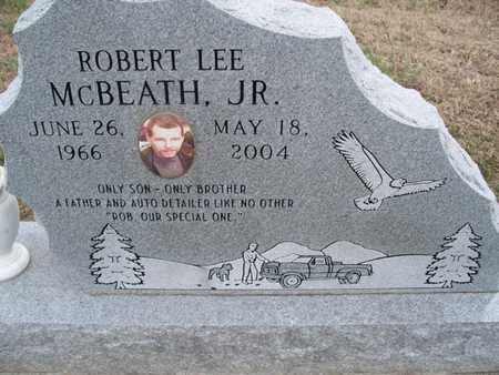 MCBEATH, ROBERT LEE, JR - Montgomery County, Kansas | ROBERT LEE, JR MCBEATH - Kansas Gravestone Photos