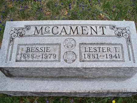 MCCAMENT, BESSIE - Montgomery County, Kansas | BESSIE MCCAMENT - Kansas Gravestone Photos
