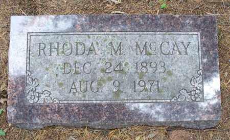 MCCAY, RHODA M - Montgomery County, Kansas   RHODA M MCCAY - Kansas Gravestone Photos