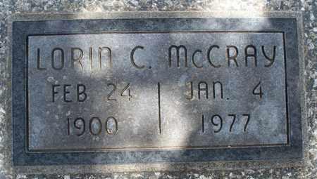 MCCRAY, LORIN C - Montgomery County, Kansas | LORIN C MCCRAY - Kansas Gravestone Photos