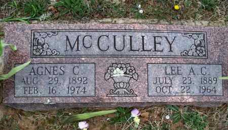 MCCULLEY, AGNES C - Montgomery County, Kansas | AGNES C MCCULLEY - Kansas Gravestone Photos