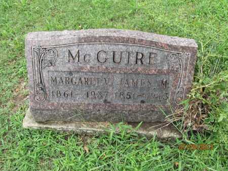 MCGUIRE, MARGARET V - Montgomery County, Kansas | MARGARET V MCGUIRE - Kansas Gravestone Photos