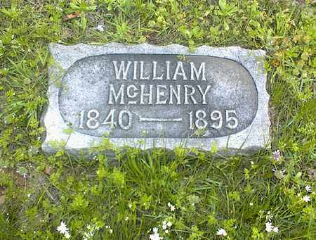 MCHENRY, WILLIAM - Montgomery County, Kansas | WILLIAM MCHENRY - Kansas Gravestone Photos
