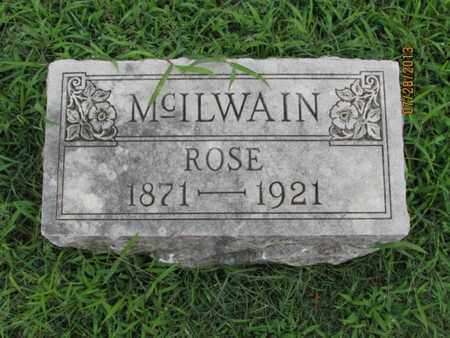 MCILWAIN, ROSE - Montgomery County, Kansas | ROSE MCILWAIN - Kansas Gravestone Photos