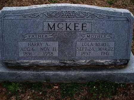 MCKEE, HARRY A - Montgomery County, Kansas   HARRY A MCKEE - Kansas Gravestone Photos