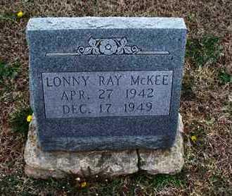 MCKEE, LONNY RAY - Montgomery County, Kansas   LONNY RAY MCKEE - Kansas Gravestone Photos