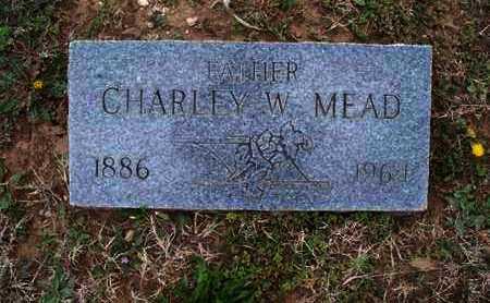 MEAD, CHARLEY W - Montgomery County, Kansas | CHARLEY W MEAD - Kansas Gravestone Photos