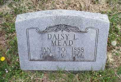 MEAD, DAISY L - Montgomery County, Kansas   DAISY L MEAD - Kansas Gravestone Photos
