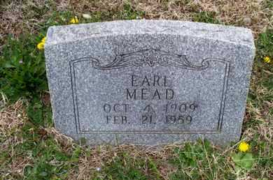 MEAD, EARL - Montgomery County, Kansas | EARL MEAD - Kansas Gravestone Photos