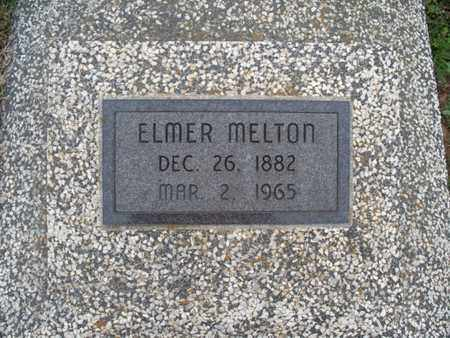 MELTON, ELMER - Montgomery County, Kansas | ELMER MELTON - Kansas Gravestone Photos