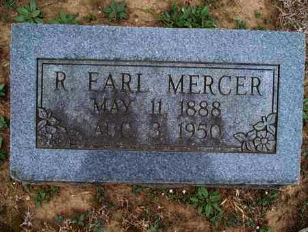 MERCER, R  EARL - Montgomery County, Kansas | R  EARL MERCER - Kansas Gravestone Photos