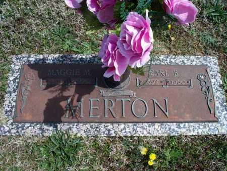 MERTON, MAGGIE M - Montgomery County, Kansas | MAGGIE M MERTON - Kansas Gravestone Photos