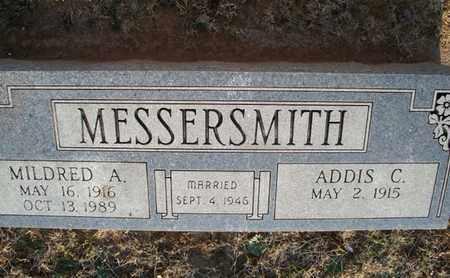 MESSERSMITH, MILDRED A - Montgomery County, Kansas | MILDRED A MESSERSMITH - Kansas Gravestone Photos