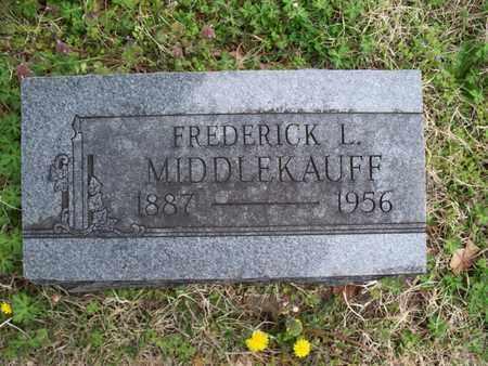 MIDDLEKAUFF, FREDERICK L - Montgomery County, Kansas | FREDERICK L MIDDLEKAUFF - Kansas Gravestone Photos