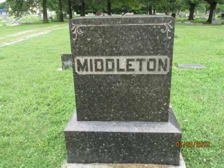 MIDDLETON, FAMILY STONE - Montgomery County, Kansas | FAMILY STONE MIDDLETON - Kansas Gravestone Photos