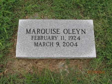 MIDDLETON, MARQUISE OLEYN - Montgomery County, Kansas   MARQUISE OLEYN MIDDLETON - Kansas Gravestone Photos