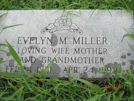 MILLER, EVELYN M. - Montgomery County, Kansas | EVELYN M. MILLER - Kansas Gravestone Photos