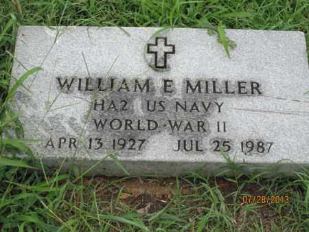 MILLER, WILLIAM E   (VETERAN WWII) - Montgomery County, Kansas | WILLIAM E   (VETERAN WWII) MILLER - Kansas Gravestone Photos