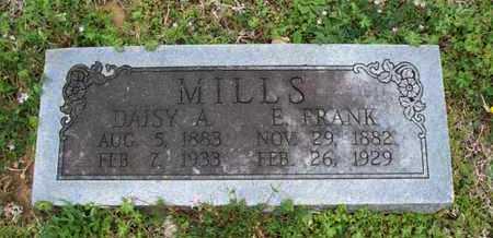 MILLS, E FRANK - Montgomery County, Kansas | E FRANK MILLS - Kansas Gravestone Photos
