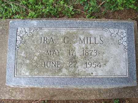 MILLS, IRA G - Montgomery County, Kansas | IRA G MILLS - Kansas Gravestone Photos