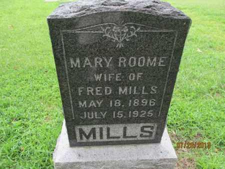 MILLS, MARY - Montgomery County, Kansas   MARY MILLS - Kansas Gravestone Photos