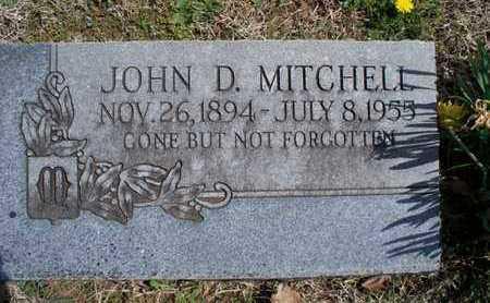 MITCHELL, JOHN D - Montgomery County, Kansas | JOHN D MITCHELL - Kansas Gravestone Photos