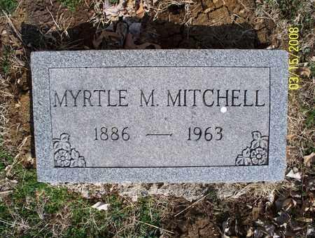 MITCHELL, MYRTLE M - Montgomery County, Kansas   MYRTLE M MITCHELL - Kansas Gravestone Photos