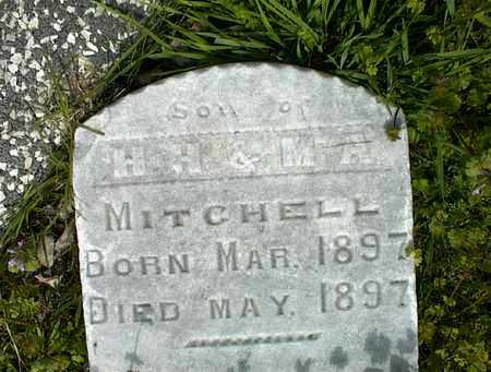 MITCHELL, INFANT SON - Montgomery County, Kansas | INFANT SON MITCHELL - Kansas Gravestone Photos