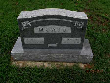 MOATS, J  WAYNE - Montgomery County, Kansas | J  WAYNE MOATS - Kansas Gravestone Photos