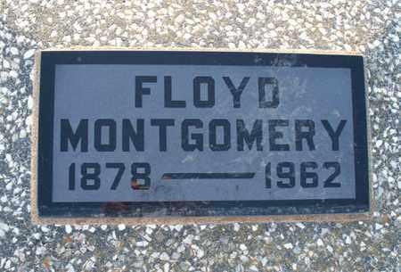 MONTGOMERY, FLOYD - Montgomery County, Kansas   FLOYD MONTGOMERY - Kansas Gravestone Photos