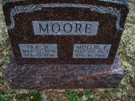 MOORE, IRA N - Montgomery County, Kansas | IRA N MOORE - Kansas Gravestone Photos