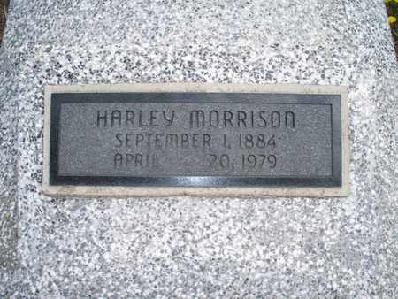 MORRISON, HARLEY - Montgomery County, Kansas | HARLEY MORRISON - Kansas Gravestone Photos