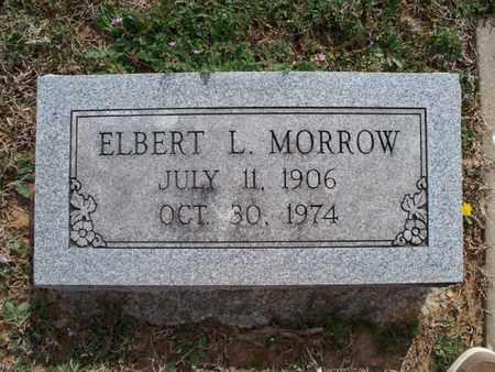 MORROW, ELBERT L - Montgomery County, Kansas | ELBERT L MORROW - Kansas Gravestone Photos
