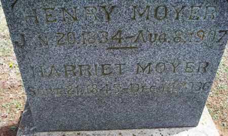 MOYER, HENRY - Montgomery County, Kansas | HENRY MOYER - Kansas Gravestone Photos