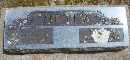 MOYER, ROXIE - Montgomery County, Kansas | ROXIE MOYER - Kansas Gravestone Photos