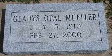 MUELLER, GLADYS OPAL - Montgomery County, Kansas   GLADYS OPAL MUELLER - Kansas Gravestone Photos