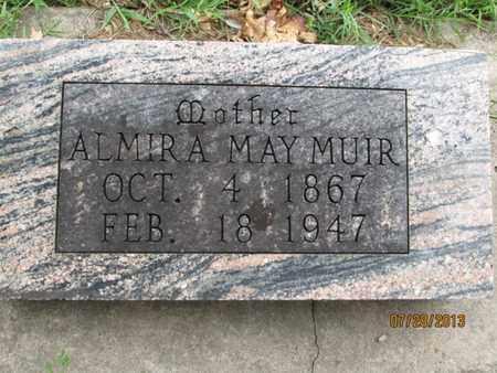 MUIR, ALMIRA MAY - Montgomery County, Kansas | ALMIRA MAY MUIR - Kansas Gravestone Photos