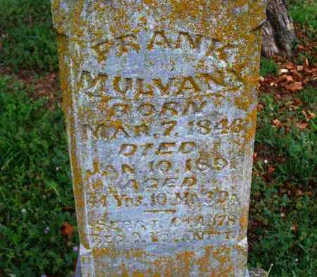 MULVANY   , FRANK  (VETERAN UNION) - Montgomery County, Kansas | FRANK  (VETERAN UNION) MULVANY    - Kansas Gravestone Photos