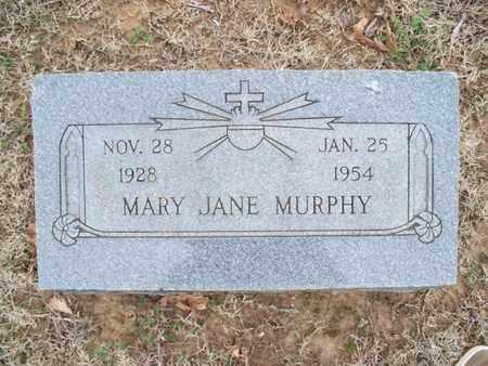 MURPHY, MARY JANE - Montgomery County, Kansas | MARY JANE MURPHY - Kansas Gravestone Photos