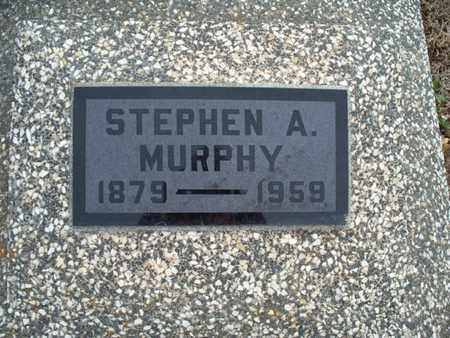 MURPHY, STEPHEN A - Montgomery County, Kansas | STEPHEN A MURPHY - Kansas Gravestone Photos