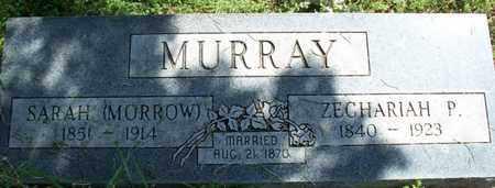MORROW MURRAY, SARAH - Montgomery County, Kansas | SARAH MORROW MURRAY - Kansas Gravestone Photos