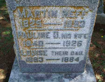 NEFF, LOUISE - Montgomery County, Kansas | LOUISE NEFF - Kansas Gravestone Photos