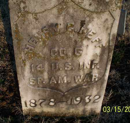 NEFF, HENRY G   (VETERAN SAW) - Montgomery County, Kansas | HENRY G   (VETERAN SAW) NEFF - Kansas Gravestone Photos