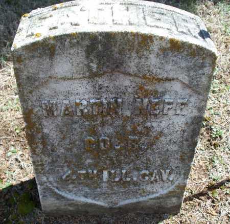 NEFF, MARTIN   (VETERAN UNION) - Montgomery County, Kansas | MARTIN   (VETERAN UNION) NEFF - Kansas Gravestone Photos