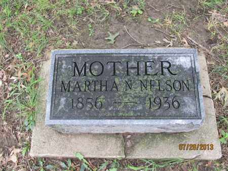 NELSON, MARTHA N - Montgomery County, Kansas   MARTHA N NELSON - Kansas Gravestone Photos
