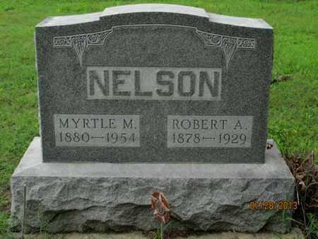 NELSON, ROBERT A - Montgomery County, Kansas | ROBERT A NELSON - Kansas Gravestone Photos