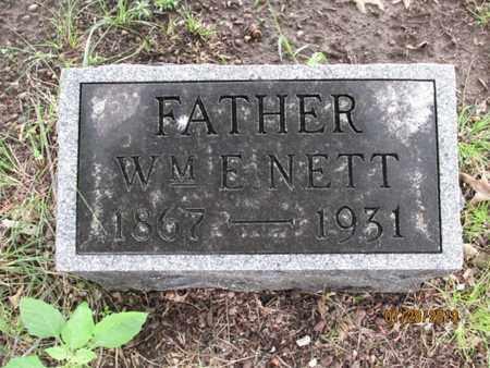 NETT, WILLIAM F - Montgomery County, Kansas   WILLIAM F NETT - Kansas Gravestone Photos