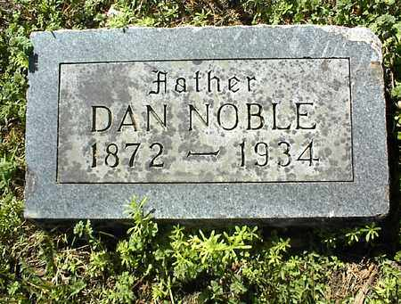 NOBLE, DAN - Montgomery County, Kansas | DAN NOBLE - Kansas Gravestone Photos