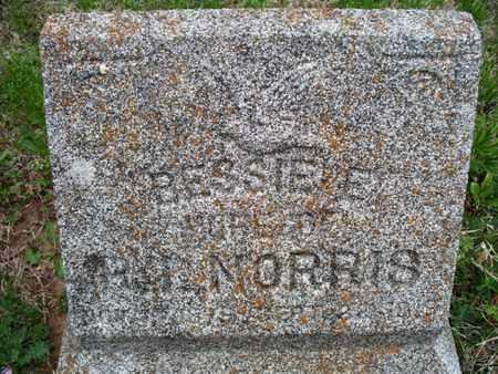 SCHOOLEY NORRIS, BESSIE E - Montgomery County, Kansas | BESSIE E SCHOOLEY NORRIS - Kansas Gravestone Photos